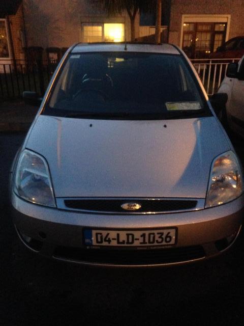 04 Ford Fiesta Steel 1.2 Litre