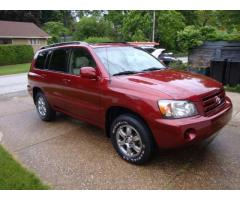 2004 Toyota Highlander 3rd row